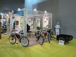 En direct du Salon du Cycle 2009 : OVO Bike propose des vélos à assistance électrique et un utilitaire