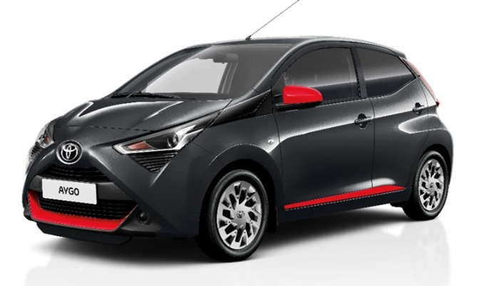 Toyota Aygo: nouvelle finition x-look