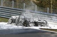 Future Audi R8 V10 : burn baby burn !