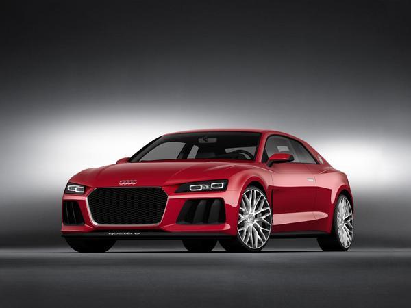 Audi n'a pas abandonné l'idée de sortir la Quattro