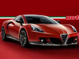 Salon de Genève - Alfa Romeo 4C: comme ça?