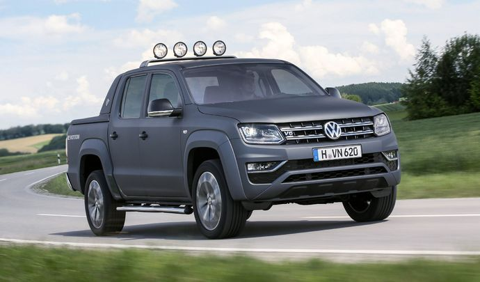 le volkswagen amarok lu pick up international 2018. Black Bedroom Furniture Sets. Home Design Ideas