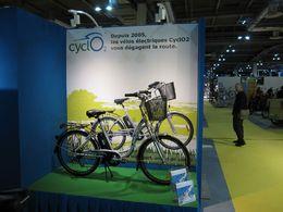 En direct du Salon du Cycle 2009 : gros plan sur la gamme électrique CyclO2