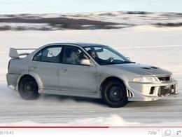 Ferdinand Winterchallenge 2011 : une journée circuit sur un lac gelé norvégien