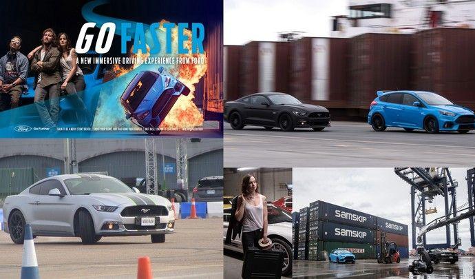 Ford Go Faster: glissez-vous dans la peau d'un cascadeur (test vidéo)