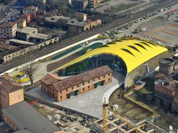 Le nouveau musée Enzo Ferrari a ouvert ses portes