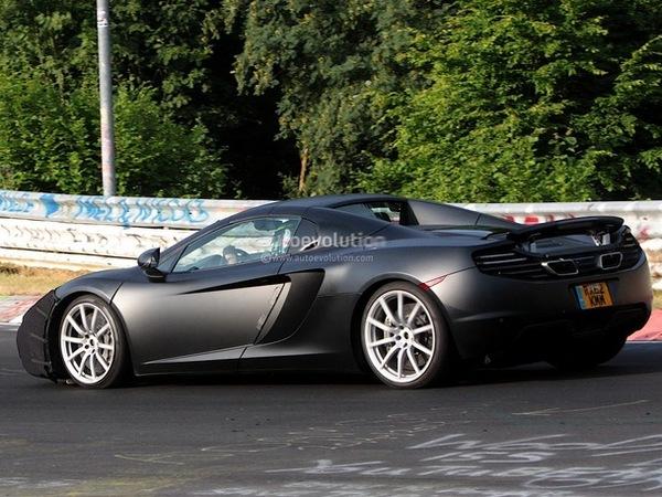 "La future McLaren ""P13"" en test"