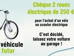 """Chambéry Métropole lance de nouveau son opération """"chèque 2 roues électrique"""""""