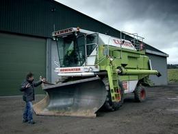 Top Gear : comment transformer une moissonneuse-batteuse en chasse-neige ?