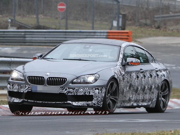Surprise : la future BMW M6 Gran Coupé sur le Ring