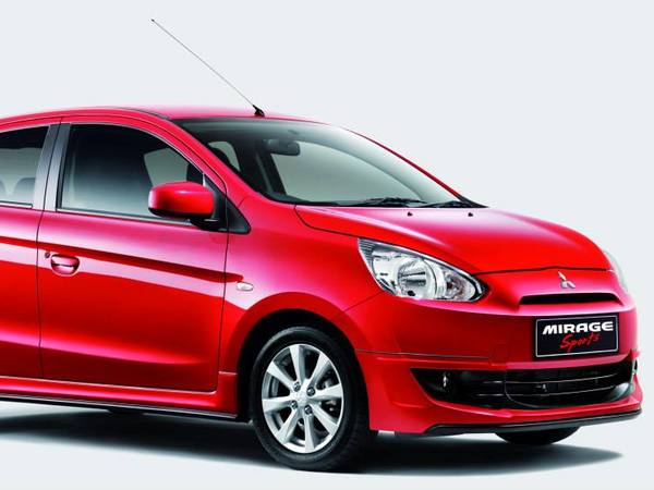 Mitsubishi Mirage Sports : en apparence seulement