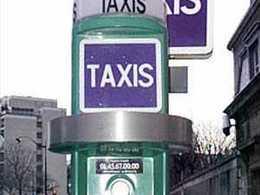 Taxis: Paris dépasserait les bornes