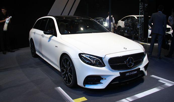 Mercedes Classe E 43 AMG break : entre deux - En direct du Mondial de l'auto 2016