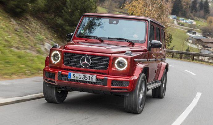 Mercedes : nouveau gros diesel sur le Classe G