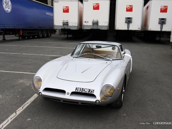 Photos du jour : Iso Grifo A3C (Rétromobile)