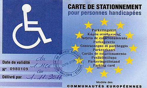 stationnement  la gratuit u00e9 pour les handicap u00e9s adopt u00e9e