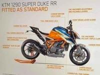 KTM va bientôt dévoiler une nouvelle 1290 Super Duke RR