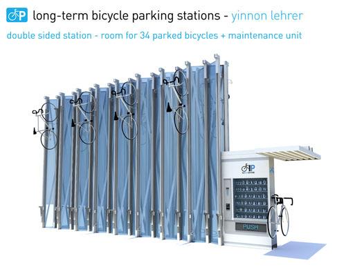 Le parking à vélo vertical, la solution contre les vols de deux-roues ?