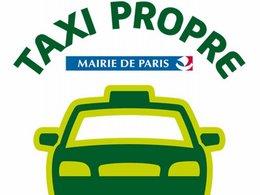"""Bilan de l'opération """"taxi propre"""" à Paris"""