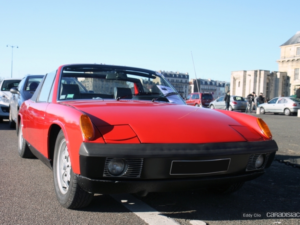 Photos du jour : Porsche 914 2.0 (Vincennes en Anciennes)