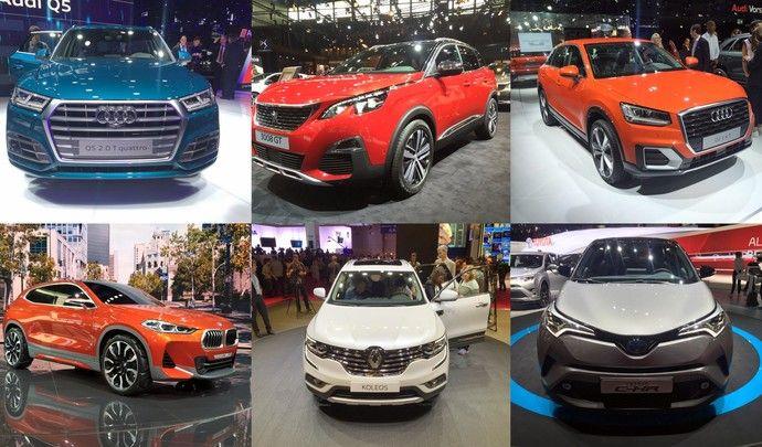 Mondial de Paris 2016: le salon des SUV (reportage vidéo)