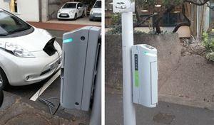 Électrique: les lampadaires comme bornes de recharge