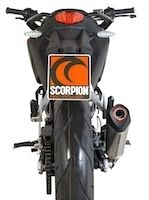 Scorpion équipe la KTM Duke 125 d'un échappement Serket Red Power