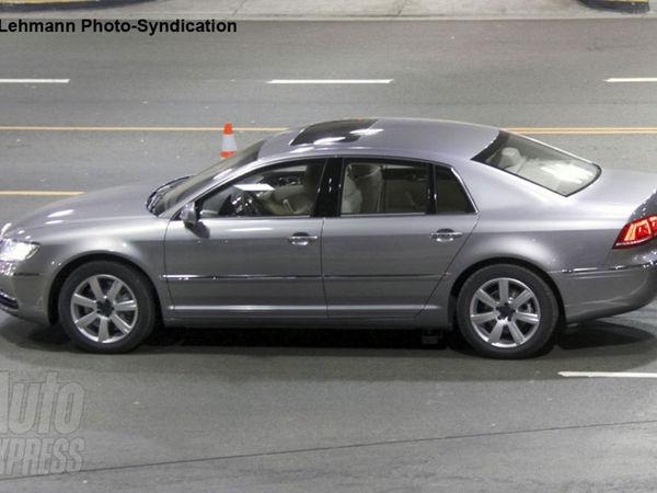Nouvelle VW Phaeton : complètement nue