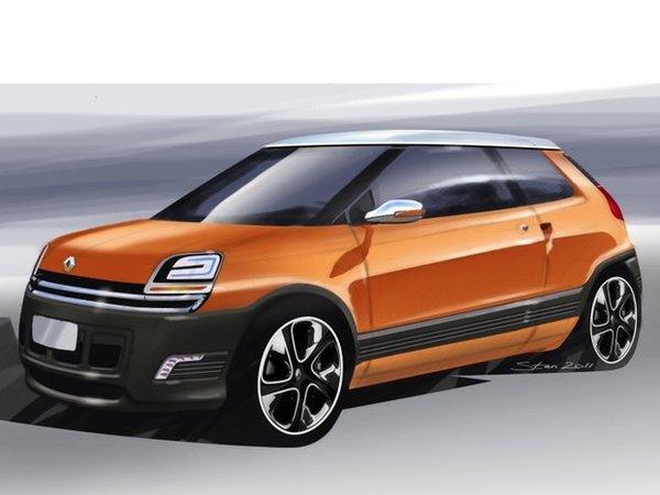 La future Renault 5 à moteur arrière ?