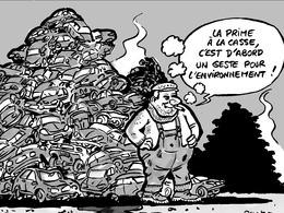 Le dessin du jour - La prolongation de la prime pollue