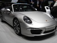 Salon de Genève 2012 : Porsche 911 cabriolet