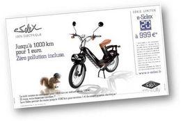La série limitée e-Solex/20 Minutes disponible jusqu'à fin décembre 2009