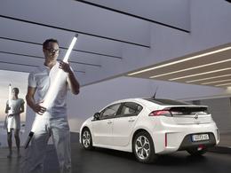 Salon EVER à Monaco - L'Opel Ampera disponible à l'essai