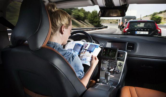 Volvo :la conduite autonome en option à 10000 dollars dès 2021