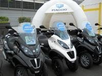 Groupe Piaggio : Lancement du MP3 City Tour