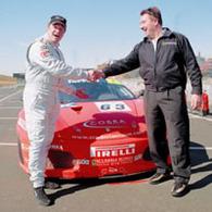 Mansell de retour en course au volant d'une Ferrari...