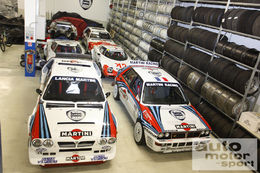 Le garage de Marco Bianchini