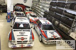Le garage de Marco Bianchini