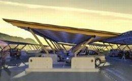 Une nouvelle solution d'ombrière photovoltaïque pour parking : le SUN4PARK