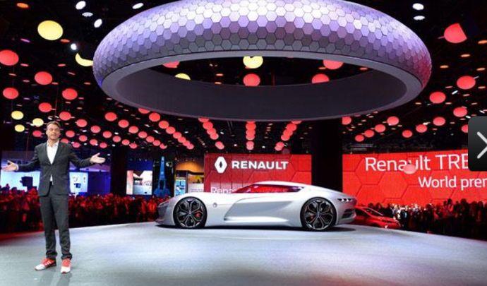 Laurens Van Den Acker, directeur du style Renault nous présente le concept TreZor
