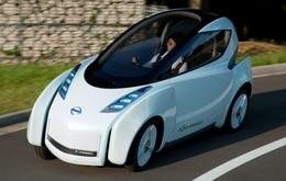 Salon de Tokyo 2009 : un Concept de véhicule électrique inclinable à 4 roues, le Nissan Land Glider
