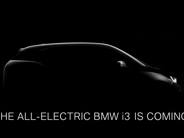 BMW fait comme si de rien n'était et tease l'i3