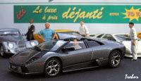 Miniature : 1/43 ème - LAMBORGHINI Murcielago LP640 Roadster