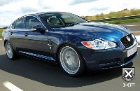 Jaguar XF par Ecurie Ecosse: classieuse!