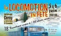 18ème édition de la locomotion en fête les 5 et 6 juin à La Ferté-Alais (91).