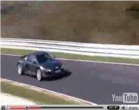 La vidéo du jour : future Audi R8 V10 sur le Ring'... juste avant le feu de joie