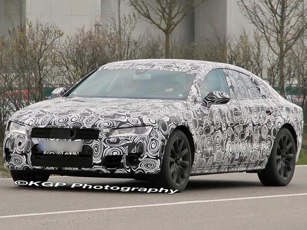 Future Audi A7 : c'est bien une Sportback Concept