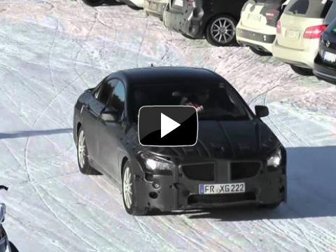La future Mercedes CLA/CLC surprise (vidéo)