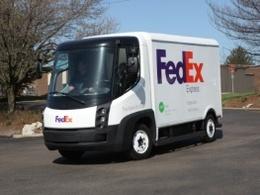 Un nouveau camion de livraison électrique circule aux Etats-Unis