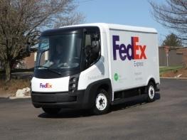 un nouveau camion de livraison lectrique circule aux etats unis. Black Bedroom Furniture Sets. Home Design Ideas